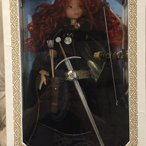 """Disney Store Limited Edition 18"""" Princess Merida Doll Collectible from Disney/Pixar's Brave"""