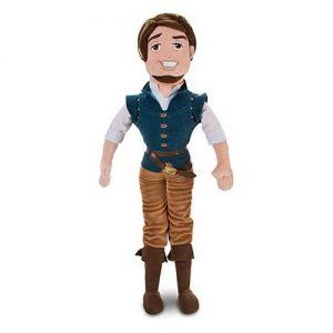 """Disney Store Tangled Rapunzel 21"""" Flynn Rider Plush Ragdoll Stuffed Doll Toy Gift"""
