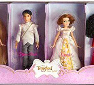 Disney Tangled Ever After Exclusive Mini Princess Doll Set Rapunzel, Flynn Ri...
