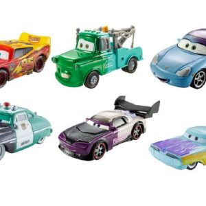 Disney cars set of 6 2015 Color Changers: SALLY, McQueen, Boost, Blue Mater, Ramone, Sheriff!!