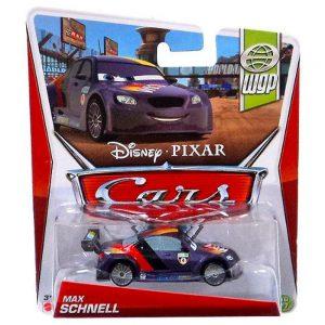 Disney/Pixar Cars 2, Movie Die-Cast Vehicle, Max Schnell #21, 1:55 Scale