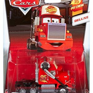 Disney/Pixar Cars, 95 Pit Crew 2015 Series, Pit Crew Member Mack [With Headset] Deluxe Die-Cast Vehicle #7/8, 1:55 Scale