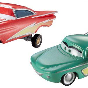 Disney/Pixar Cars, 95 Pit Crew, Hydraulic Lightning Ramone and Pit Crew Member Flo Die-Cast Vehicles