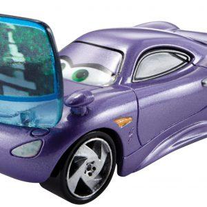 Disney/Pixar Cars, Allinol Blowout Die-Cast, Holley Shiftwell with Screen #6/9, 1:55 Scale