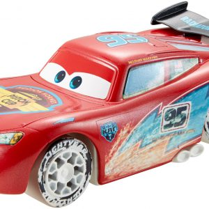 Disney/Pixar Cars Ice Drifters 1:43 Scale Pullback Drifter Vehicle, Lightning McQueen