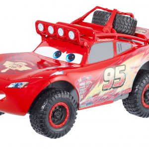 Disney/Pixar Cars RS 500 Off Road Lightning McQueen and DVD