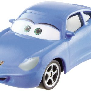 Disney/Pixar Cars, Radiator Springs Die-Cast Vehicle, Sally with Tattoo #15/15, 1:55 Scale