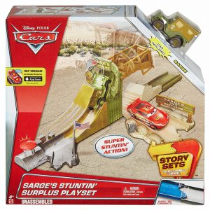 Disney/Pixar Cars Sarge's Stuntin' Surplus Playset