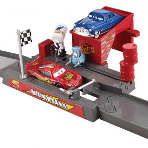 Disney/Pixar Cars Story Sets Piston Cup Pit Stop Play & Race Launcher