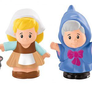 Fisher-Price Little People Disney Princess, Cinderella & Friends