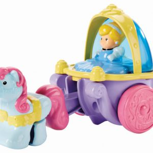 Fisher Price Little People Disney Princess - Klip Klop Cinderella Coach Vehicle
