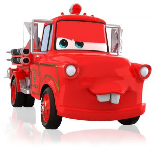 Hallmark Keepsake Ornament: Disney/Pixar Cars Mater to the Rescue! Fire Truck