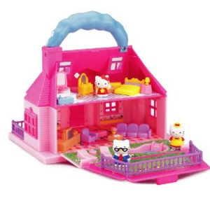 Hello Kitty Carry-Along Mini Doll House