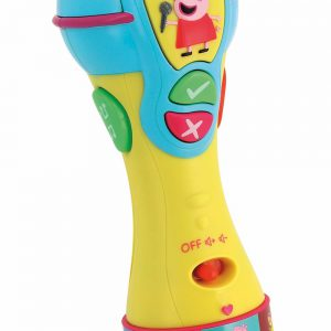 Inspiration Works Peppa Pig Sing and Learn Microphone