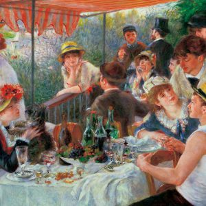 Japan Official Jigsaw Puzzle - Luncheon of the Boating Party 300 pcs Pieces Classic Painting by Pierre Auguste Renoir French Impressionist Oil Canvas Beverly