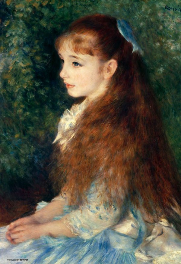 Japan Official Jigsaw Puzzle - Portrait of Mademoiselle Irene Cahen d'Anvers 300 pcs Pieces D Anvers Classic Painting by Pierre Auguste Renoir French Impressionist Oil Canvas Decor Collection Beverly