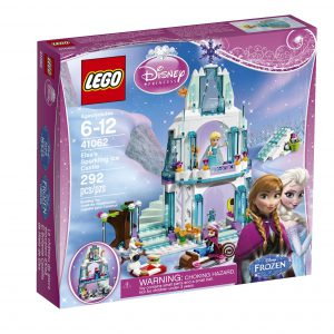 LEGO Disney Princess Elsa's Sparkling Ice Castle 41062