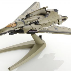 Mecha Collection Macross Series Delta VF-171 Nightmare Plus Fighter Mode Standard Model Henkyou Chuuichi Type Frontier Space Version Plastic Complete Figure Airplane Aircraft Plane Toy Bandai