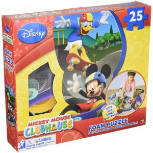 Mickey Foam Puzzle Mat Boxed
