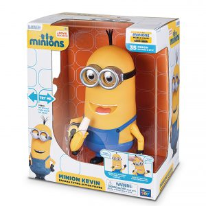 Minions Kevin Banana Eating Action Figure