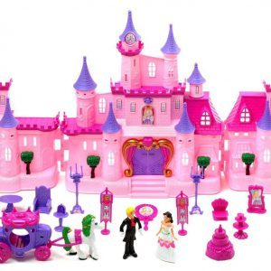 My Dream Castle Light Up and Music Playset Princess Witchery Playset Doll House Childrens Doll House Castle