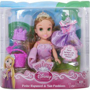 My First Disney Petite Rapunzel & Sun Fashions Doll New
