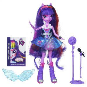 My Little Pony Equestria Girls Singing Twilight Sparkle Doll