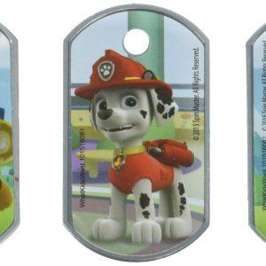 Nick Jr Paw Patrol Dog Tags - Set of 3