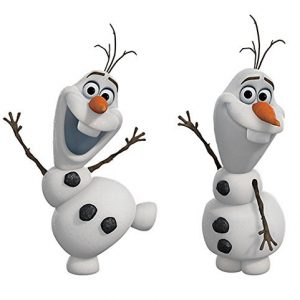 RoomMates Disney Frozen Olaf The Snow Man Peel And Stick Wall Decals