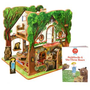 STORYTIME TOYS Goldilocks and The Three Bears Book and Toy Set