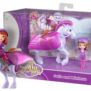 "Sofia and Minimus ~3"" Disney Sofia the First Mini-Doll Playset"