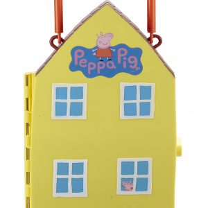 Toyland Peppa Pig Playhouse with Mat and 4 Figures