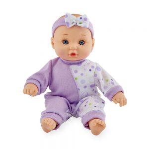 You & Me 8 inch Mini Baby Doll - Purple